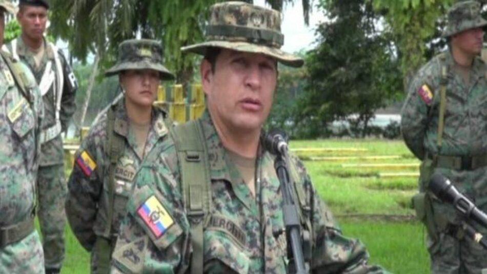 Rafael Correa nombra a nuevo comandante general del Ejército