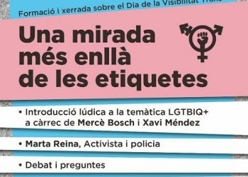 El Cercle de Feminismes i Sexualitats de Podem Catalunya i Podem Badalona organitzen un Taller / Formació LGTBQ