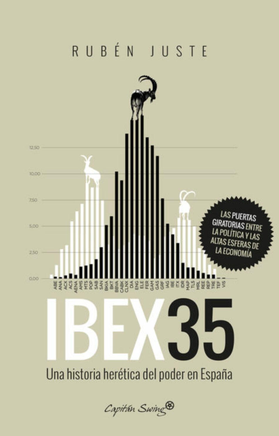 Iglesias participa en la presentación en Valencia de 'IBEX35. Una historia herética del poder en España'
