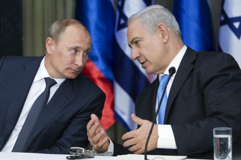 Putin debatirá con Netanyahu sobre conflicto palestino-israelí
