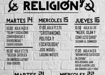 """La Agrupación Universitaria Carlos Marx da inicio a sus """"Jornadas de Socialismo y Religión"""""""