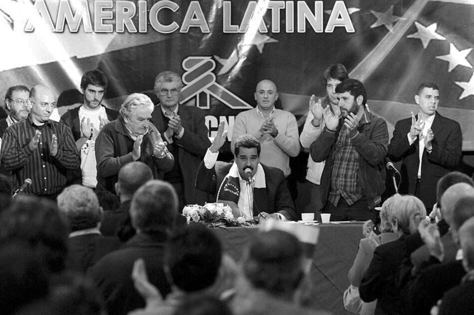 Central sindical de Uruguay se solidariza con Venezuela