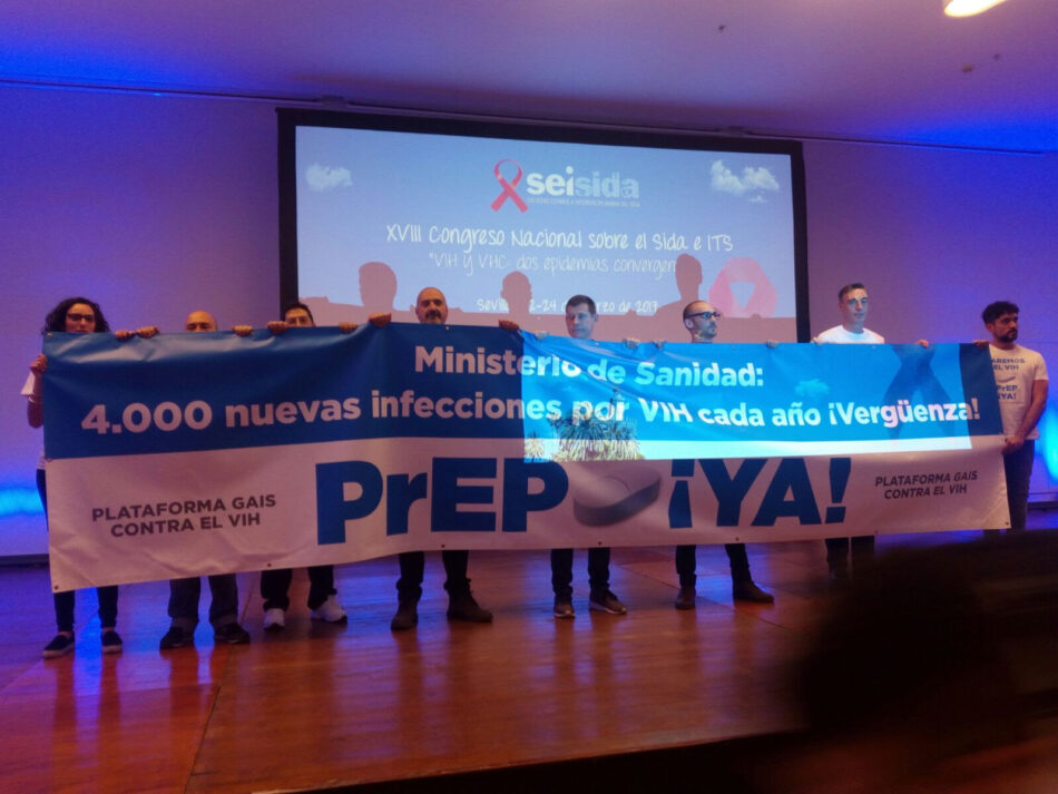 La Plataforma Gais contra el VIH demanda al Ministerio de Sanidad y a las Comunidades Autónomas el acceso a la PreP de forma urgente