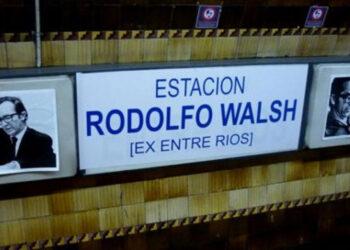 Estación Rodolfo Walsh: a 40 años de su desaparicón