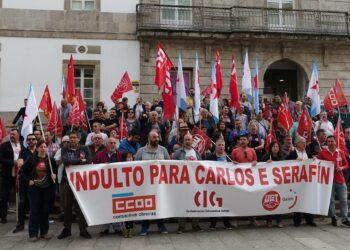 Más de 40.000 firmas exigen el indulto de Carlos y Serafín