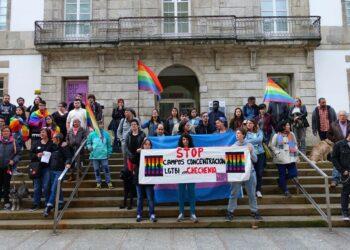 Vigo se suma a las concentraciones de solidaridad con el colectivo LGTBI de Chechenia