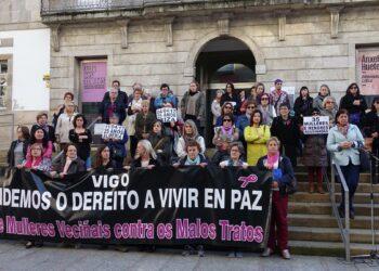Concentración en Vigo por el derecho de las mujeres a vivir en paz