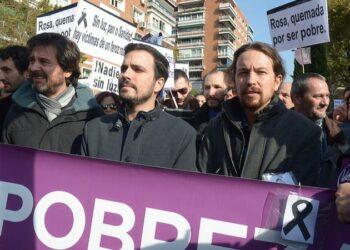 Unidos Podemos busca el apoyo del sindicalismo a su moción de censura contra Rajoy