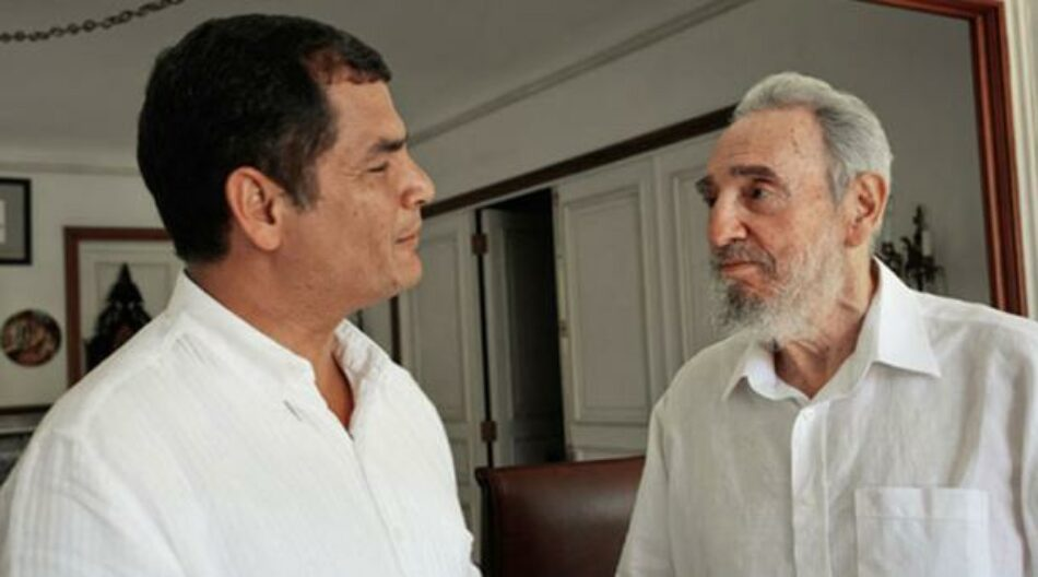 Cuba otorgará reconocimientos al presidente Rafael Correa