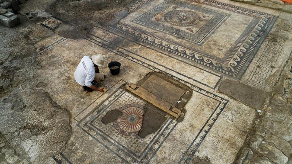 Descubren en Francia una ciudad romana en un estado deslumbrante de conservación