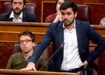 """Garzón exige al Gobierno que modifique el Código Penal para que la libertad de expresión no dependa """"de que el tribunal esté formado por miembros del Opus Dei o por gente del siglo XXI»"""