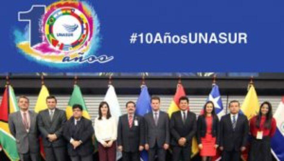 La Unasur cumplió 10 años de acción política por la integración regional