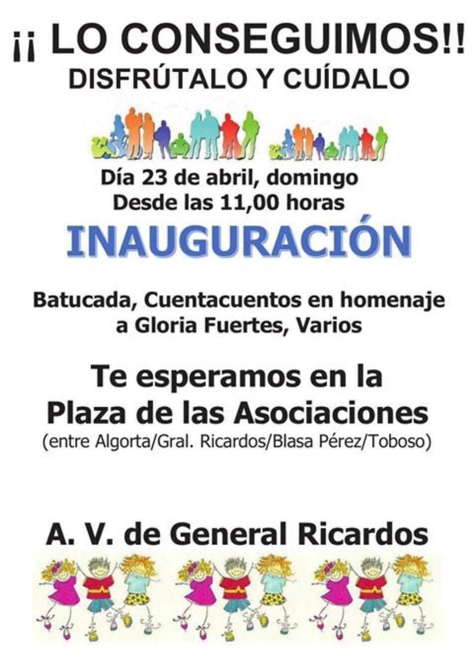 El vecindario de Carabanchel consigue por fin la transformación en parque del solar de Blasa Pérez