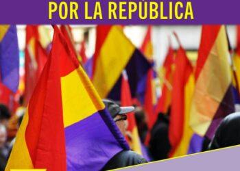Manifestación por la III República en Jerez: sábado, 22 de abril