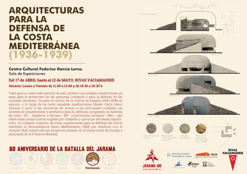 Arquitecturas para la defensa de la costa mediterránea (1936-1939)