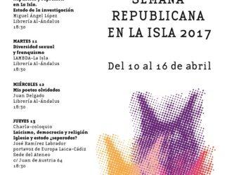 El Ateneo Republicano y Memorialista de La Isla organiza la Semana Republicana de 2017