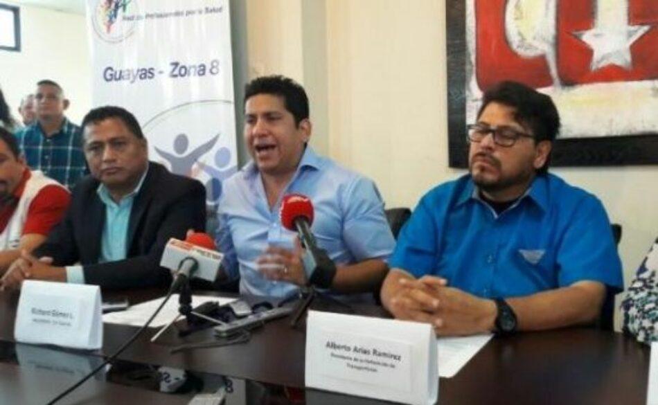 Trabajadores ecuatorianos reiteran apoyo a Revolución Ciudadana