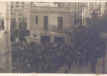Homenatge a la República a Badalona