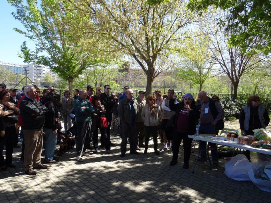 Más de 300 personas piden el fin de los asentimiento de Delicias y el uso dotacional de los terrenos
