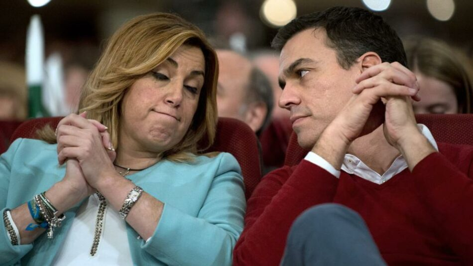 Alberto Garzón no cree que ni Susana Díaz ni Pedro Sánchez sean de izquierdas