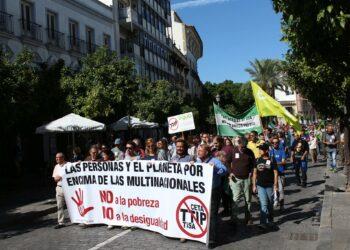 La Plataforma Provincial contra el TTIP convoca una concentración contra los paraísos fiscales en Jerez