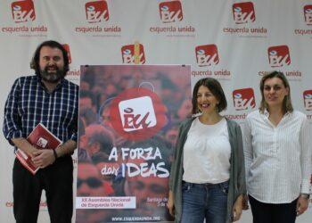 """Esquerda Unida presenta a súa XII Asemblea Nacional que terá lugar o vindeiro 3 de xuño en Compostela co lema """"A Forza das Ideas"""""""