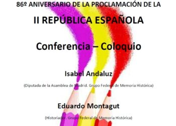 86º Aniversario de la proclamación de la II República en la Casa del Pueblo de Torrejón de Ardoz