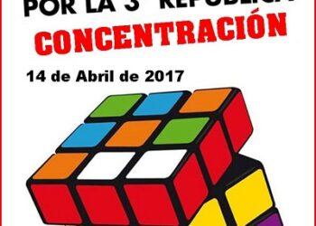 Actos por la Tercera República. Agrupación Pozo Grajero