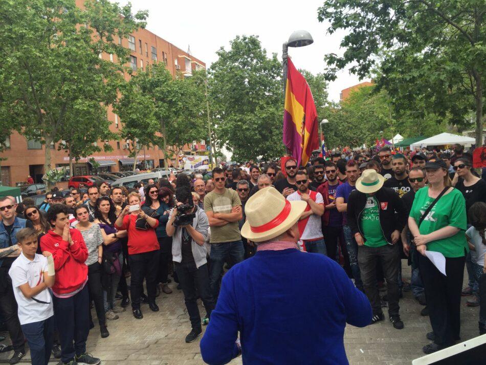 Chavismo responde al fascismo español con un acto masivo en el barrio obrero de Vallekas