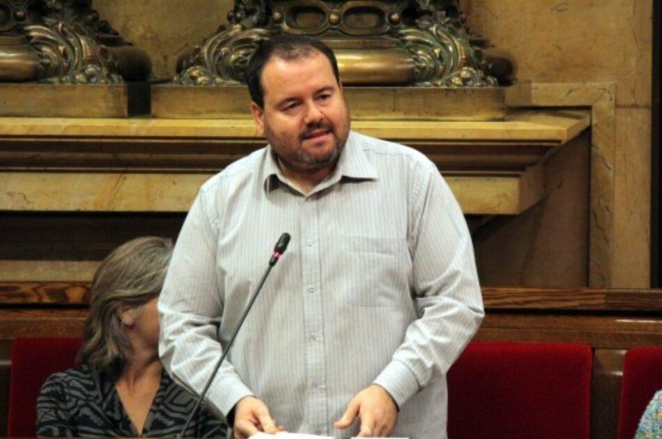 Joan Mena exige la dimisión del vicepresidente catalán Jordi Puigneró