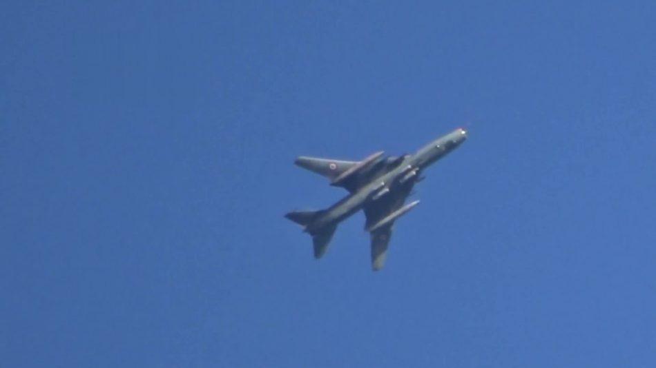 La base aérea de Al Shairat entra en funcionamiento de nuevo. Aviones de la misma atacan al EI