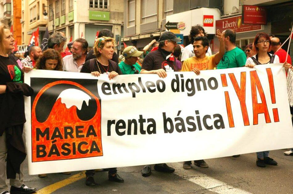 La Marea Básica apoya las huelgas de hambre de los activistas de Euskadi y Málaga y llama a  la movilización por el cumplimiento de la Carta Social y la Renta Básica Incondicional
