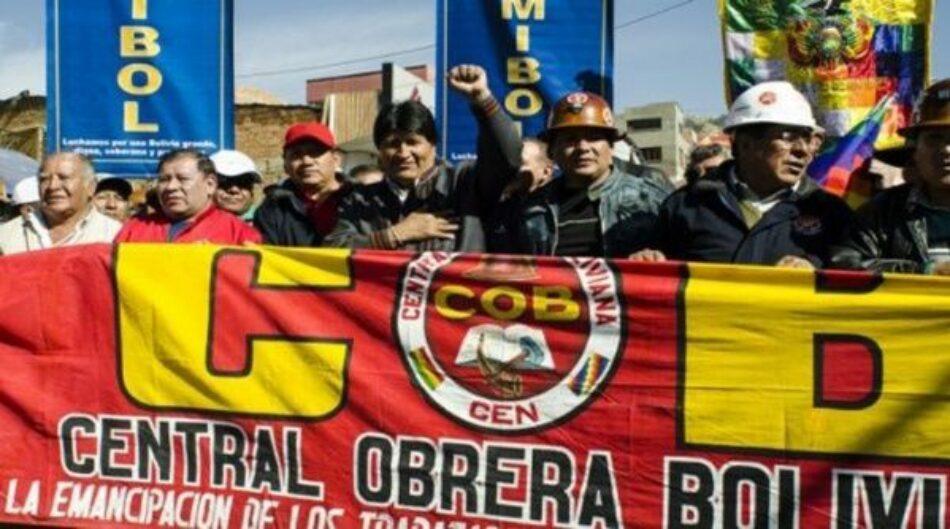 Evo Morales anunciará medidas a favor de trabajadores