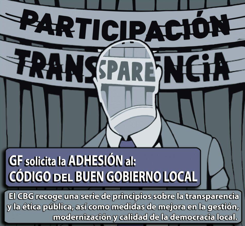 Ganar Fuenlabrada apuesta por una mayor transparencia y participación en el Ayuntamiento de Fuenlabrada