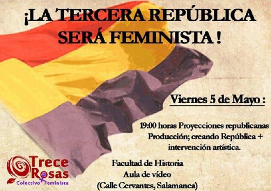 Jornada «¡La Tercera República será Feminista!»