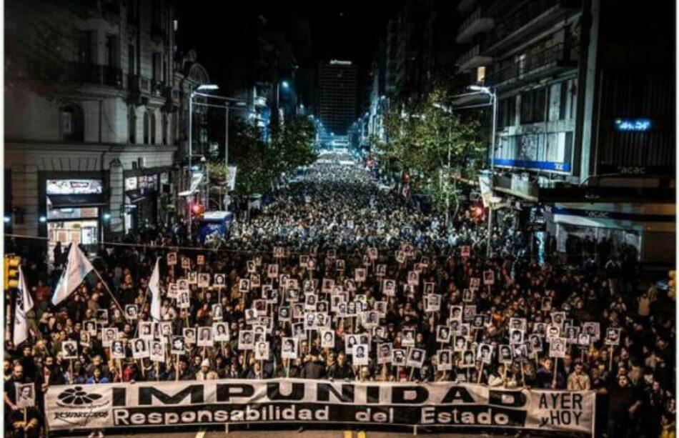 Multitudinaria Marcha del Silencio reclamó por los desaparecidos: Verdad, justicia y Nunca más terrorismo de Estado