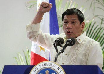 Presidente de Filipinas, Duterte: «Los más fuertes del mundo pueden hacer lo que quieran»