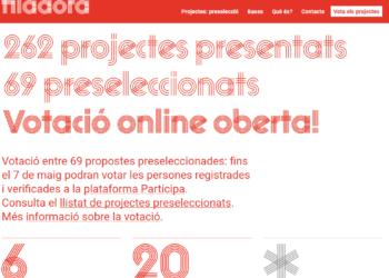 S'obre la votació de la Filadora, el fons social d'excedents salarials de Barcelona En Comú