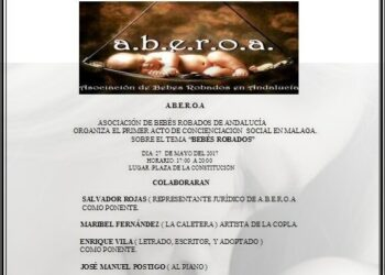 Primer acto de concienciación y sensibilización Asociación Bebés Robados de Andalucía