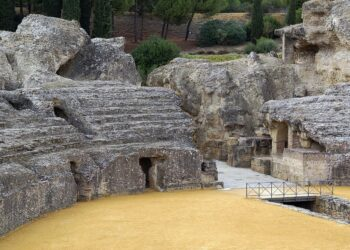 Los sindicatos denuncian la falta de personal en el conjunto arqueológico de Itálica