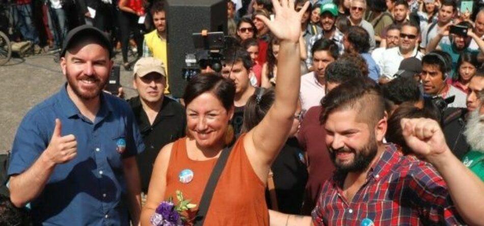 Precandidata propone Asamblea Constituyente en Chile