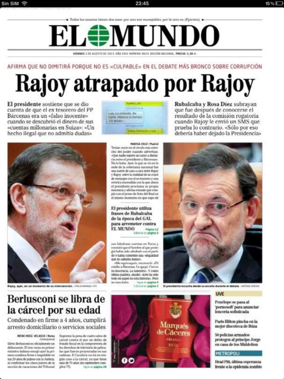 «El Mundo» vuelve a cambiar de director y la plantilla teme un periódico menos crítico con el Gobierno del PP