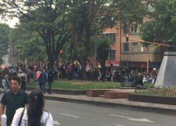 Colombia. Detienen a estudiantes de la Universidad Pedagógica durante protestas. Se desconoce su paradero