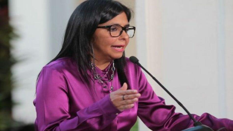 Derecha responde a llamado de diálogo con violencia: Rodríguez