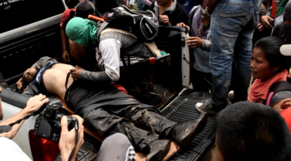 Policía Nacional asesina a Liberador de Madre Tierra en Corinto Cauca (Colombia)