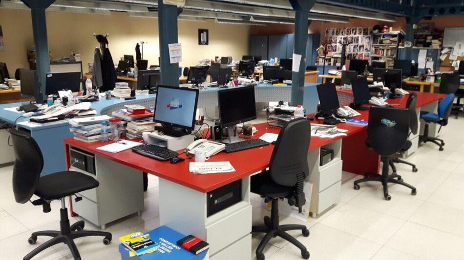 Tercer día de huelga en El Periódico