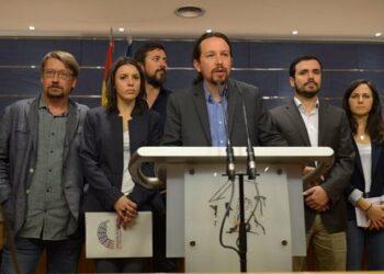 El Grupo Parlamentario Confederal Unidos Podemos-En Comú Podem-En Marea registra su moción de censura contra el Gobierno