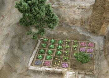 Descubren en Luxor un jardín funerario de hace 4.000 años