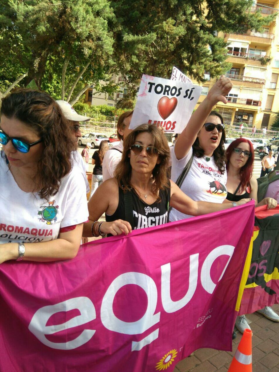 EQUO celebra que instituciones públicas retiren sus subvenciones a la tauromaquia