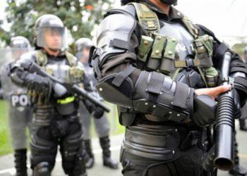 Violenta arremetida del ESMAD contra las comunidades en Colombia